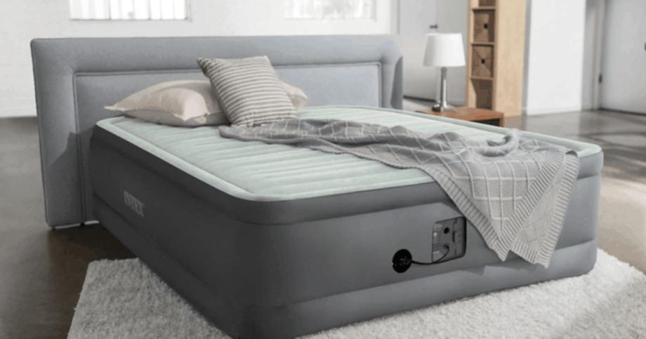 Intex Air Mattress Review, Deluxe Air Bed Queen Size