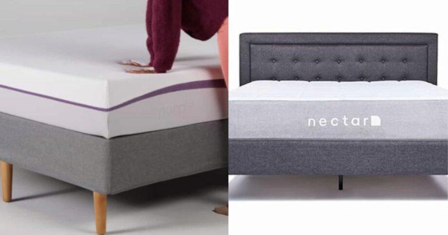 Purple Vs Nectar Mattress 2021 The Mattress Nerd
