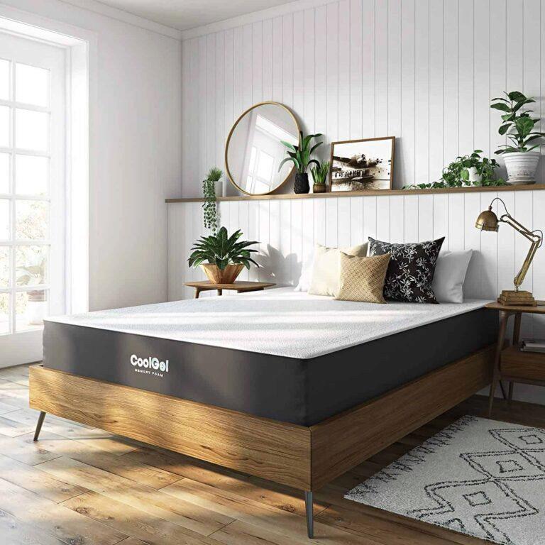 Best Mattress Under 500 2021 Er, Queen Upholstered Platform Bed Frame With Legs Jubilee Mattress