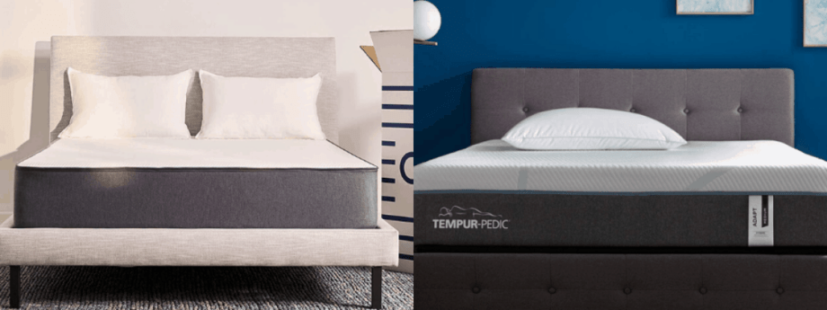 Casper Vs Tempurpedic Mattress, How Much Does A Queen Size Tempurpedic Bed Cost